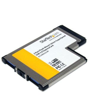 Scheda expresscard - 54 2x STARTECH - COMP. CARDS AND ADAPTERS ECUSB3S254F 65030843577 ECUSB3S254F_V931503 by Startech.com