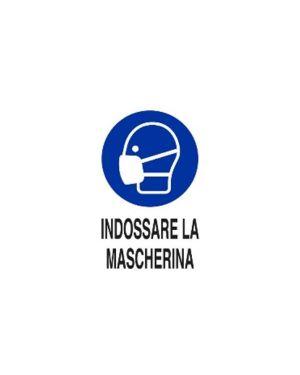 Indossare la mascherina 50x35 al Mascherine M0160020ALB0500X0350 8024814502064 M0160020ALB0500X0350-1