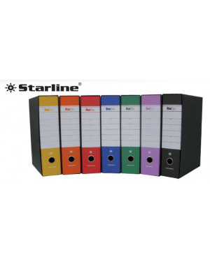 Registratore starbox f.to protocollo dorso 5cm blu starline/sfuso 0201930.BL/sfuso_STL4004S