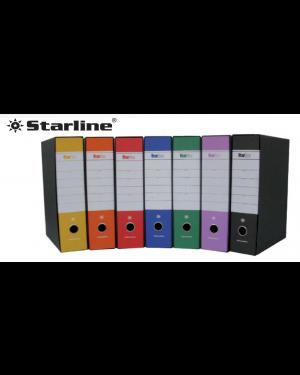Registratore starbox f.to protocollo dorso 5cm giallo starline/sfuso 0201930.GI/sfuso_STL4007S