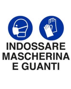 Indossare masche e guanti 30x20 Mascherine U1902000ADB0300X0200 8024814501791 U1902000ADB0300X0200