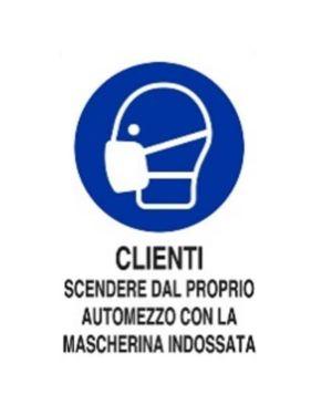 Clienti scendere automezzo c - mas Mascherine M0160050ADB0300X0200 8024814501951 M0160050ADB0300X0200