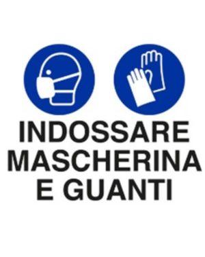 Indossare masche e guanti 30x20 Mascherine U1902000ALB0300X0200 8024814502200 U1902000ALB0300X0200