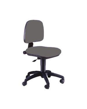 Sedia operativa a41b grigio senza braccioli A41B/ET_72722 by Unisit