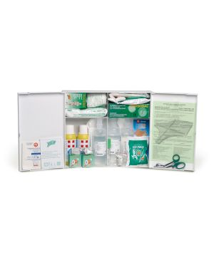 Armadietto p. soccorso in plastica bianco 102p oltre 3 persone CPS521 8034028010026 CPS521_73555