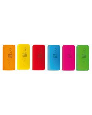 Gomma termosensibile in silicone riscrivi col.assortiti fluo osama OW 10139 8007404228933 OW 10139_73345
