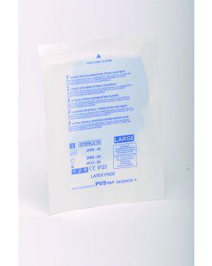 Guanti sterili monouso in nitrile per p. soccorso tg.unica GUA155 73472 A GUA155_73472 by Esselte