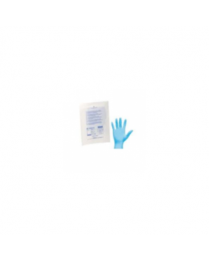 Guanti sterili monouso in nitrile per p. soccorso tg.unic GUA155_73472