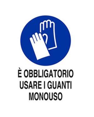E obbligatorio usare guanti mono Mascherine M0093920ALB0500 8024814502088 M0093920ALB0500