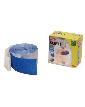 Bendaggio autoaderente 6cm x 4,5mt blu CER061 7034950123444 CER061_73567 by Esselte
