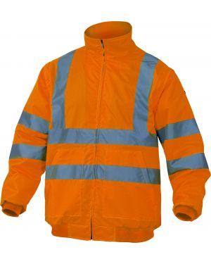 Giubbotto alta visibilita' reno arancio fluo tg. xl RENHVOR-XL 3295249162047 RENHVOR-XL_73757 by Deltaplus