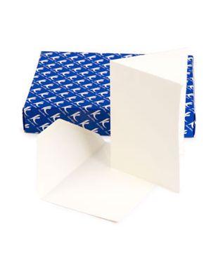 Scatola 50 biglietti partecipazione a libro+busta medioevale kartos 03 3121 00_74232