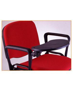 Set 2 braccioli + tavoletta ovale dx per sedie serie dado ACCKTDAFO2 8008842893967 ACCKTDAFO2_54105 by Unisit