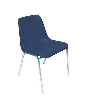 Sedia attesa esse blu senza braccioli ESC/B 8050043740182 ESC/B_58066 by Unisit