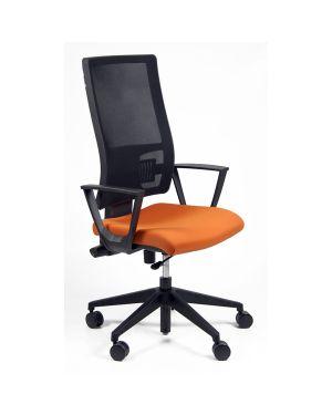 Poltrona semidirezionale nereide arancio c - bracc NDA/BR/EA 8050043741813 NDA/BR/EA_68346 by Unisit