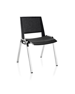 Seduta attesa kentra nero senza braccioli KEC/N 68350 A KEC/N_68350 by Esselte