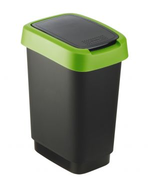 Cestinoppl apert scelta nero - verde Rotho F600018 7610859135414 F600018_74031 by Rotho