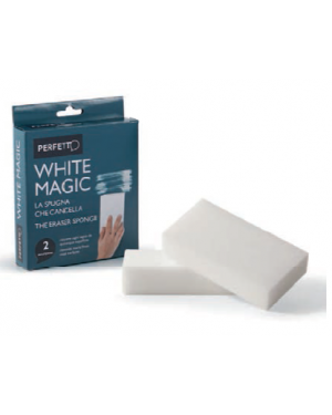 Blister 2 spugne cancella-macchie whitemagic perfetto 0246E 8000957024656 0246E_74080