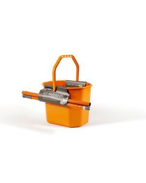 Kit pavimenti (secchiostrizza+mop+manico130cm) perfetto 0469F 8000957046962 0469F_74095 by Perfetto
