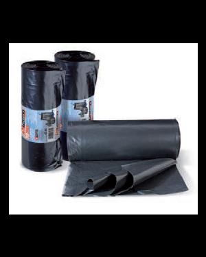 10 sacchi rifiuti 80x110cm-130lt 70µ neri hercules 0358A_74182