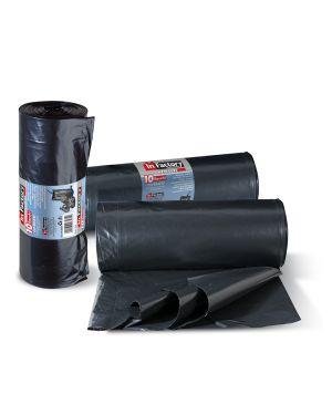 10 sacchi rifiuti 80x110cm-130lt 70µ neri hercules 0358A 8000957035812 0358A_74182