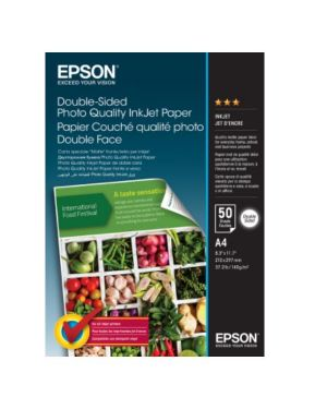 Carta double sided photo ink 50fg Epson C13S400059 8715946645575 C13S400059