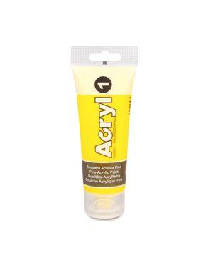 Colore acryl fine tubo da 75ml giallo 201 primo 420TA75201 8006919024207 420TA75201_73613