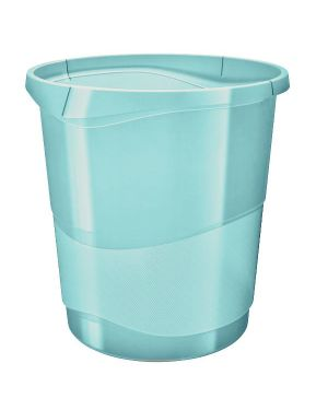 Colour ice cestino 14 lt.  azzurro Esselte 626289 4049793054742 626289