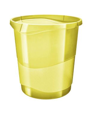 Colour ice cestino 14 lt.  giallo Esselte 626287 4049793054728 626287