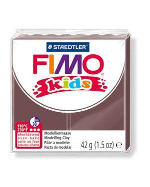 Pasta polimerica fimo kids 42gr marrone 7 8030-7 4007817805138 8030-7_73697 by Fimo
