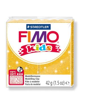 Pasta polimerica fimo kids 42gr oro glitter 112 8030-112  8030-112_73702 by Esselte