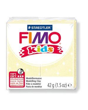 Pasta polimerica fimo kids 42gr giallo perlato 106 8030-106  8030-106_73708 by Esselte