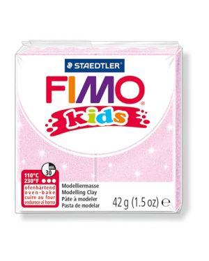 Pasta polimerica fimo kids 42gr rosa perlato 206 8030-206  8030-206_73709 by Esselte