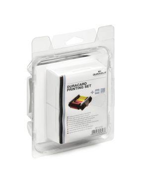 Kit stampa (nastro a colori + 100tessere) x duracard id300 durable 8913-00 4005546808253 8913-00_74522