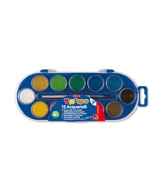 Pastiglie acquerello in 12 colori ø 30mm primo 112A12SG 8006919001123 112A12SG_35242