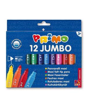 Astuccio 12 pennarelli jumbo superlavabili primo 603JUMBO12 8006919006036 603JUMBO12_73453