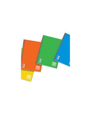 Maxiquaderno ppl 210x297mm a4 20fg+1 80gr riga di 1a one color blasetti Confezione da 10 pezzi 5567_73489 by Blasetti