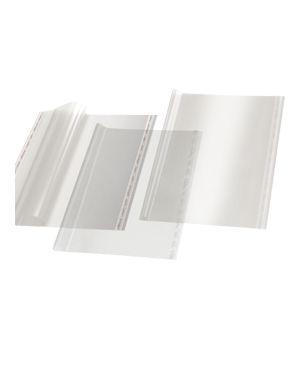 Coprilibro gigante liscio neutro trasparente 57x36cm c/adesivo ri.Plast Confezione da 25 pezzi 30444011_73497