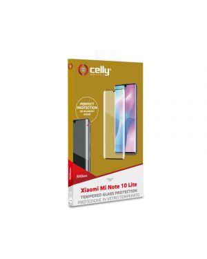 3d glass xiaom mi note 10 lite bk Celly 3DGLASS909BK 8021735759478 3DGLASS909BK