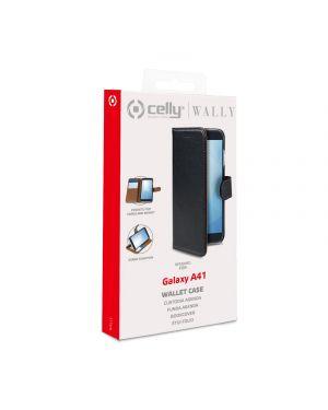 Wally case galaxy a41 black Celly WALLY906 8021735759898 WALLY906