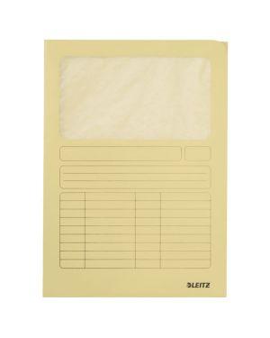 con lato superiore e destro aperto Cartellina portadocumenti formato A4 in cartone colore: azzurro Esselte Leitz