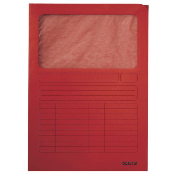 Cartelle Manilla con finestra trasparente colore rosso Leitz Cod. ES_39500325  ES_39500325 by Esselte