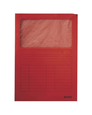 Cartelle Manilla con finestra trasparente Colore Rosso ES_39500325