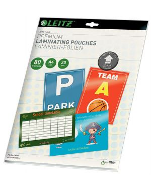Scatola 25 pouches udt a4 216x303mm 125mic leitz 74820000 4002432397662 ES_74820000 by Leitz