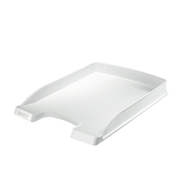 Vaschetta portacorrispondenza Leitz Plus, Slim Colore Bianco
