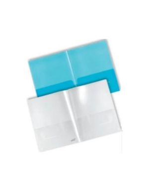 Cartellina doppia tasca int blu Plastidea 7010BL 8028422770105 7010BL