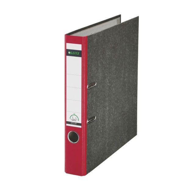 Registratore con meccanismo a leva 180° Leitz Classic marmorizzato Colore Rosso ES_10505025 by Leitz