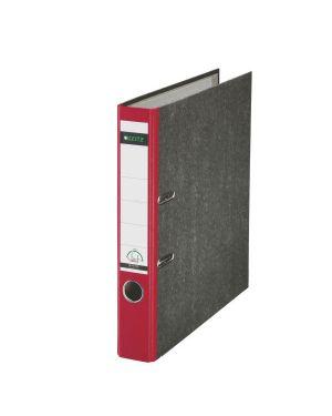 Registratore con meccanismo a leva 180° Leitz Classic marmorizzato Colore Rosso ES_10505025