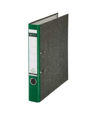 Registratore con meccanismo a leva 180° Leitz Classic marmorizzato Colore Verde ES_10505055