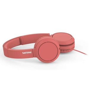 Cuffie con microfono Philips TAH4105RD/00 4895229110267 TAH4105RD/00 by Philips